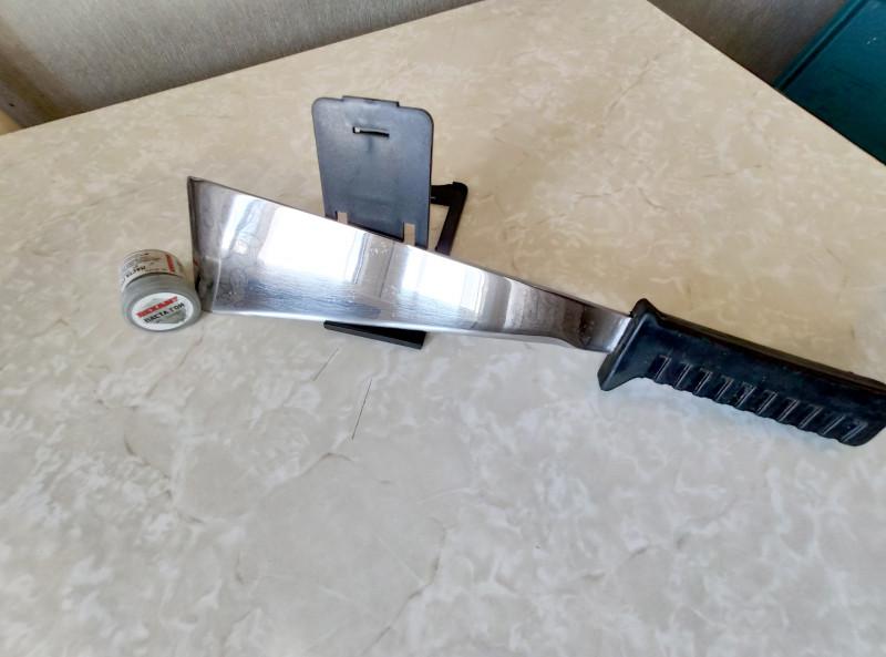 Восстановление ножа-мачете