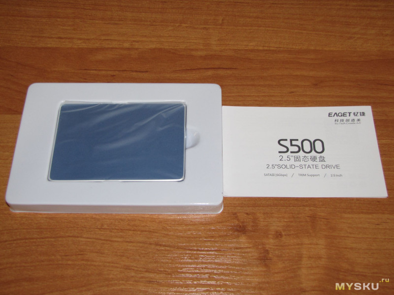 SSD EAGET S500 128 Gb