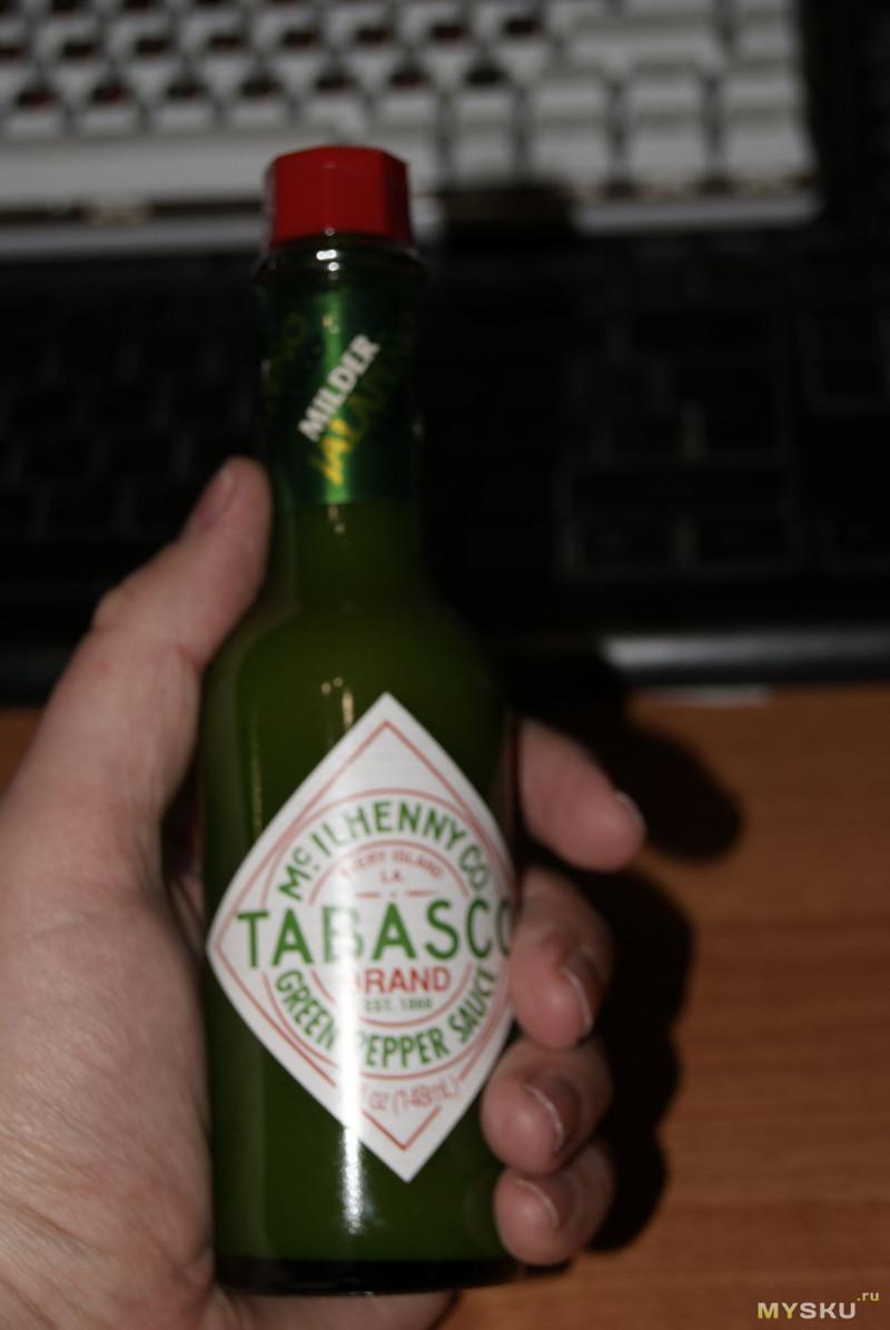 Соус Tabasco Green Jalapeño 148 мл