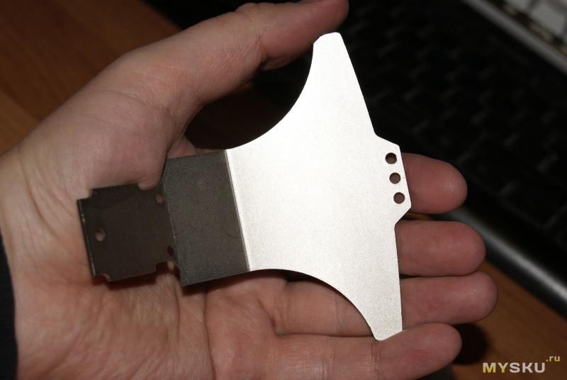 Стальной бампер для РУ машин Wltoys серии A9XX и K929