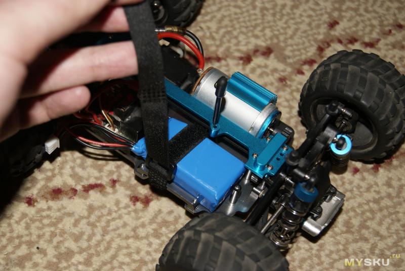 Металлическое шасси для РУ машин Wltoys серии A9XX