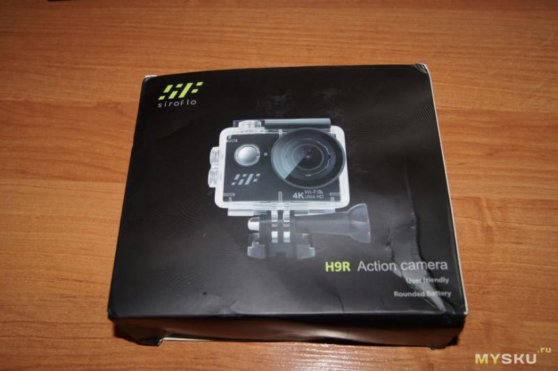 Экшн камера Siroflo H9R за $29.99