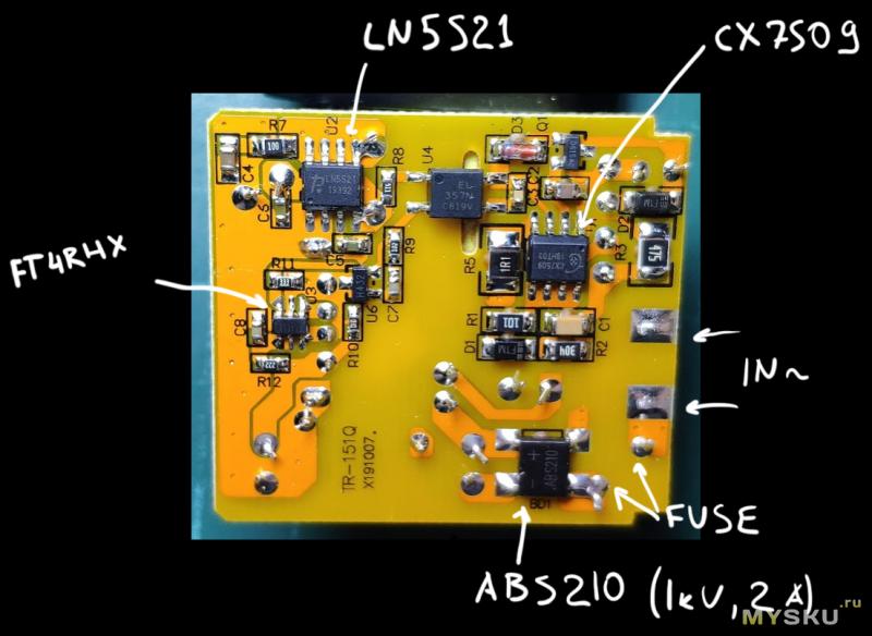 CHOETECH Q5003-EU | USB-A 18 Вт QC3.0 | Неплохой USB блок питания по невысокой цене