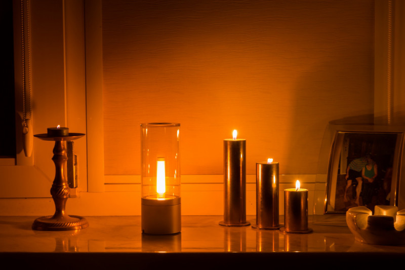 купить лампу свечу
