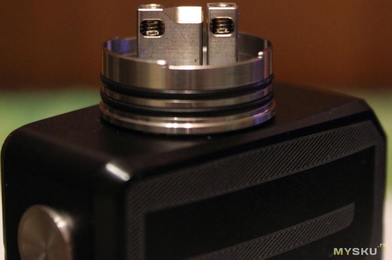 Baron RDA - два вида бокового обдува (электронная сигарета)