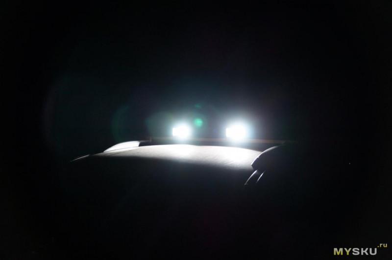 Пара прожекторов