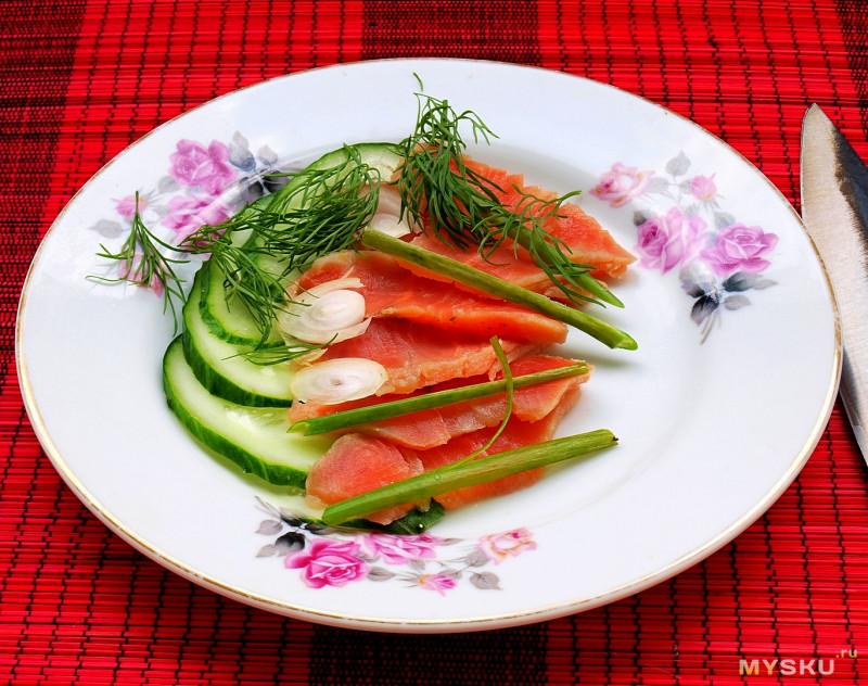 Нож ручной работы для сашими из Кореи