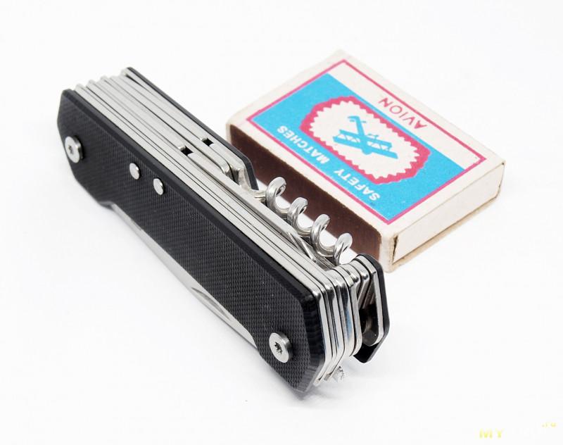 Многофункциональный нож ZANMAX GH - A08G10 9-в-1