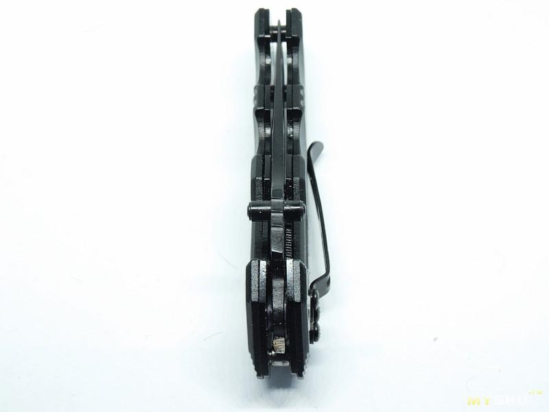 Складной нож Black Sable ( черный соболь).