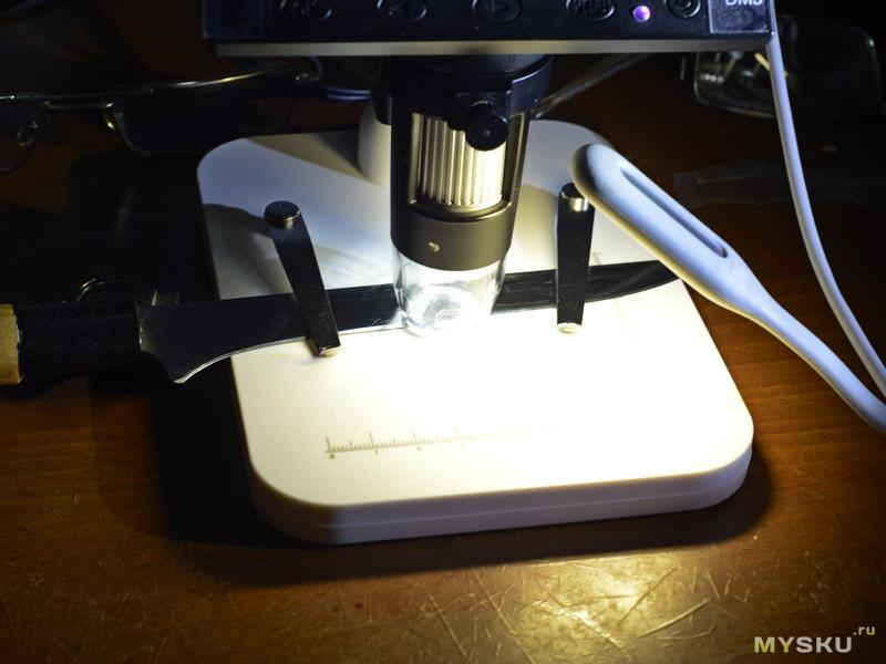 Цифровой микроскоп с дисплеем DM3