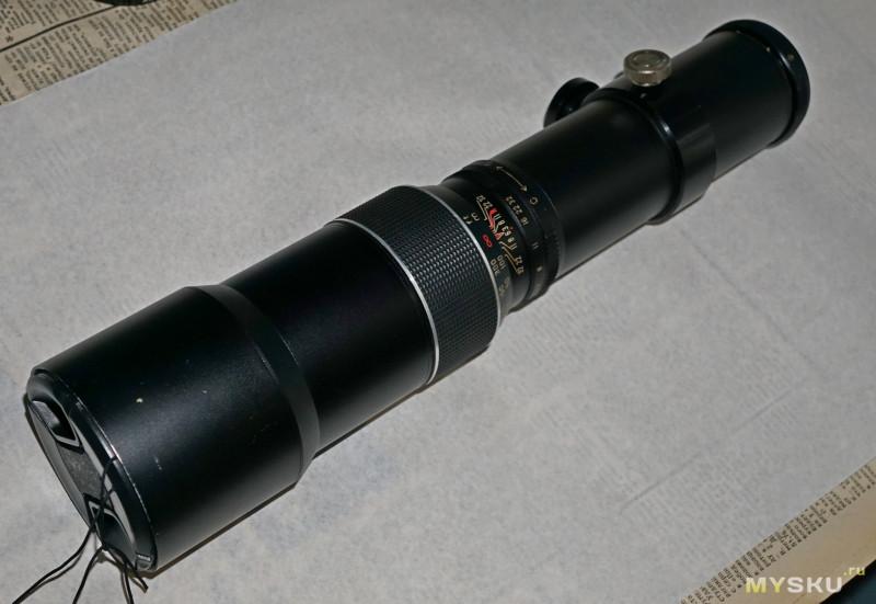 Сверхдлиннофокусный объектив  Weltblick 400mm f/6.3