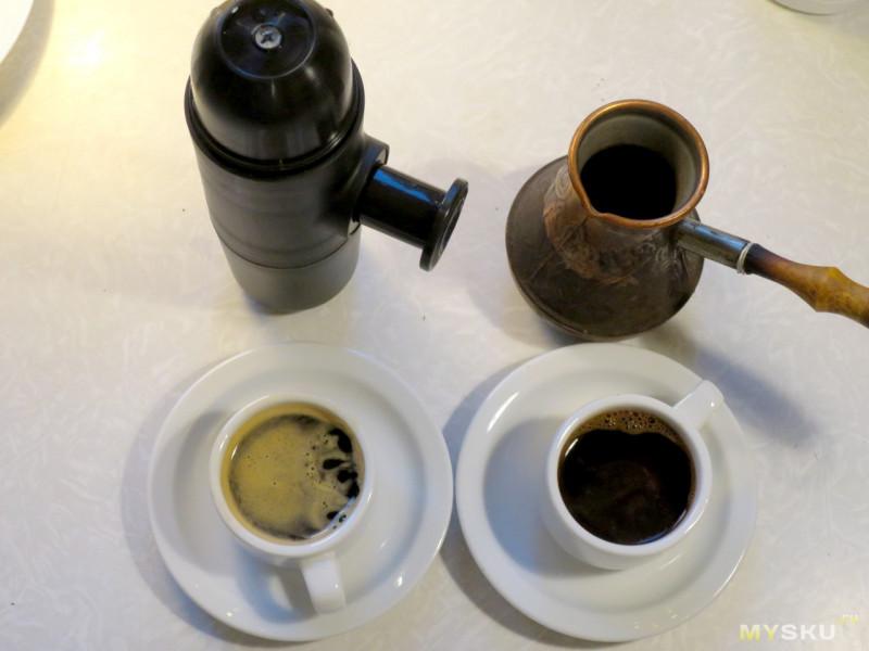 Аппарат для экстренного приготовления кофе в любых условиях.
