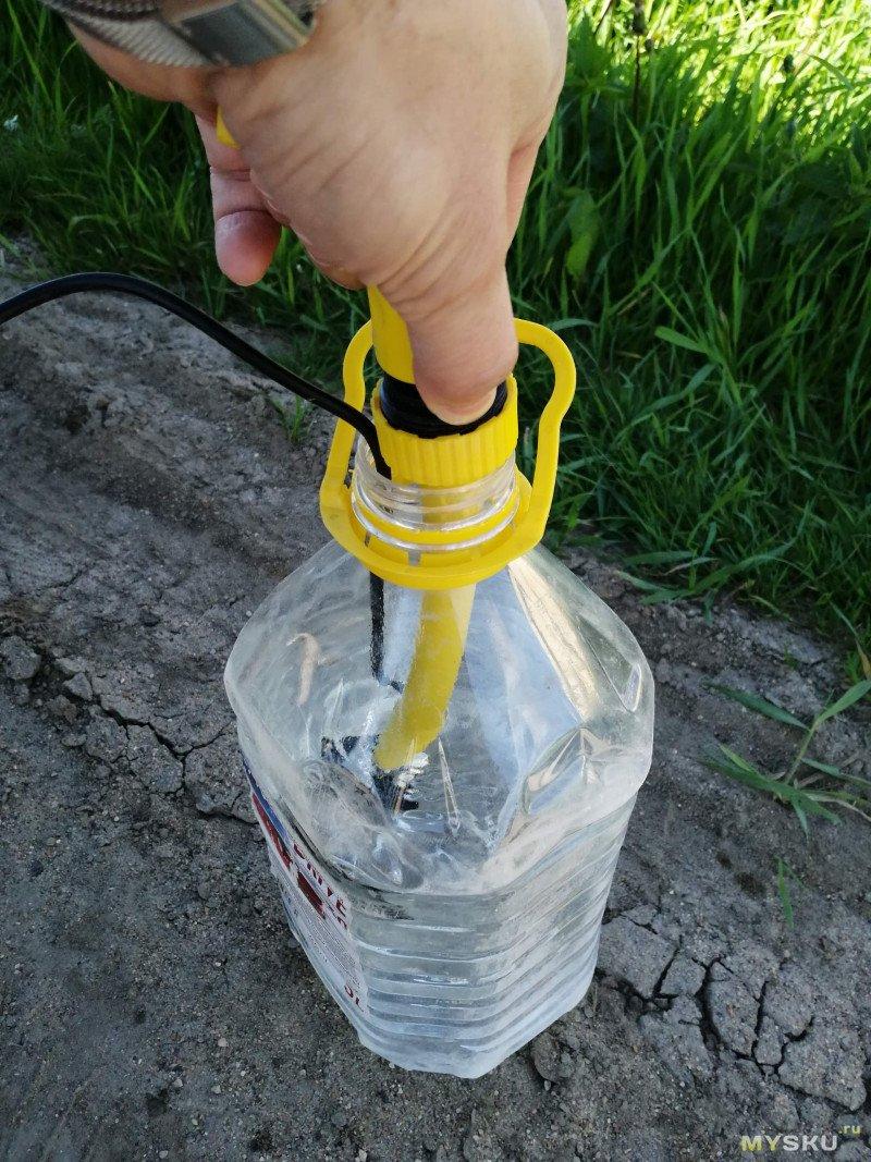 Нестандартное применение насоса 12в. В помощь тем, кто тоже остался с отключенной горячей водой