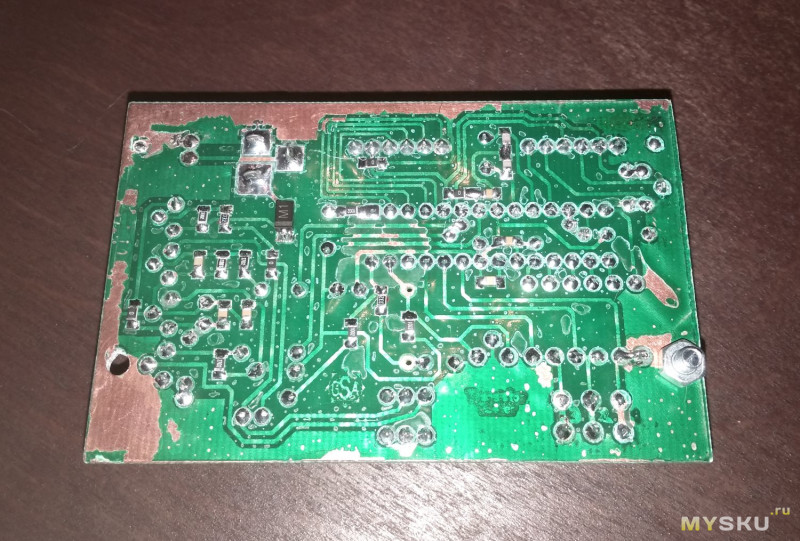 Простой и недорогой контроллер для паяльника на жалах HAKKO T12.