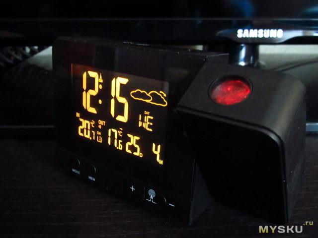 Плохой обзор хорошей метеостанции с проектором