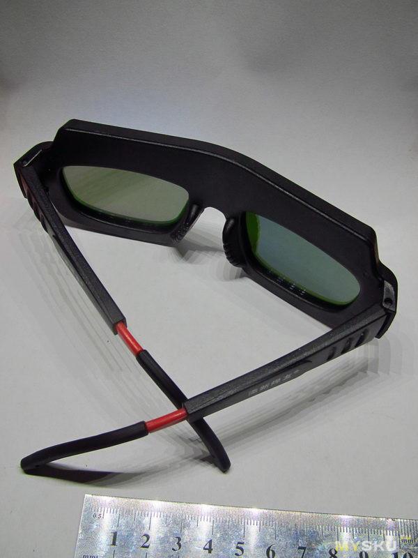 Очки с автомагическим затемнением. Для ПОМОЩНИКА сварщика