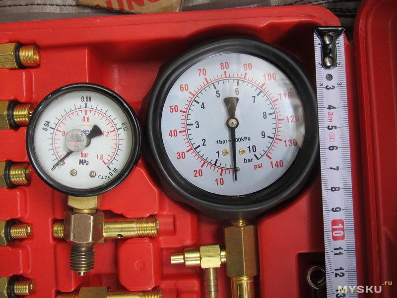 Набор для проверки давления топлива