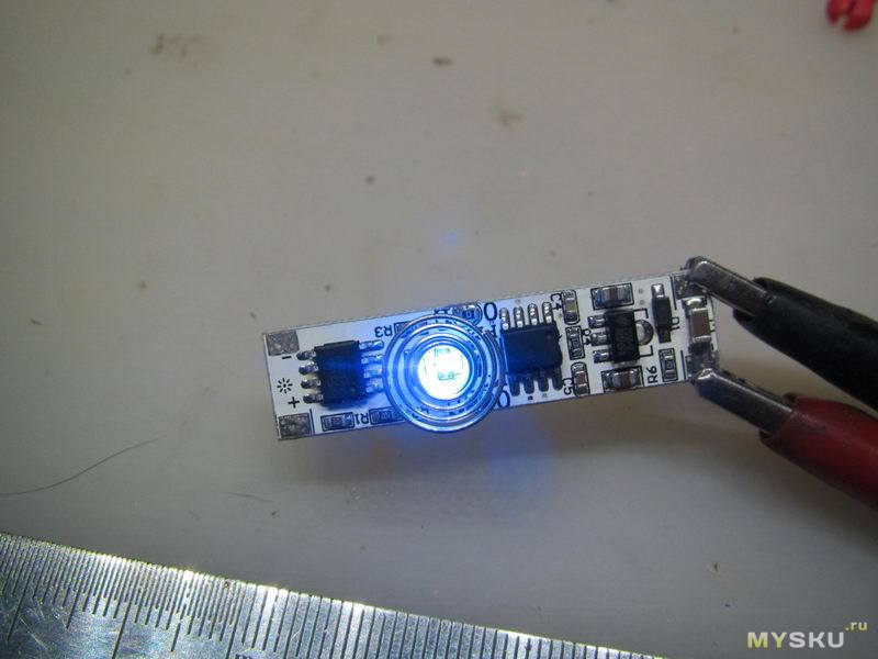 Сенсорный диммер для светодиодов