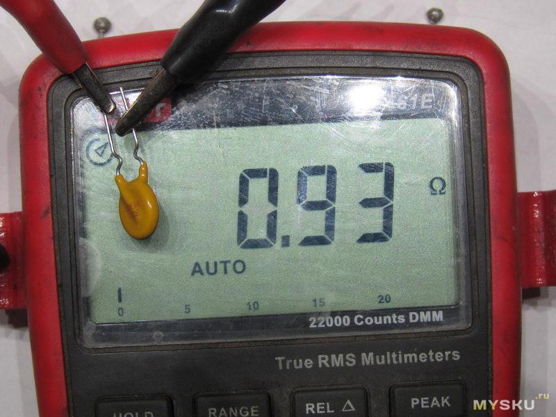 Самовосстанавливающиеся предохранители 250В 400мА. Лабораторочка
