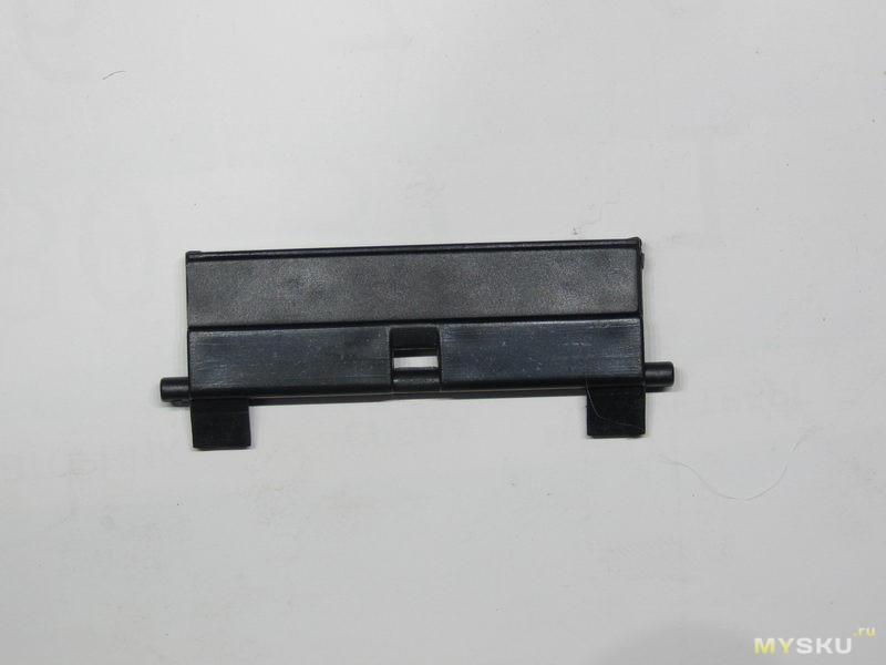 Резинки ролика захвата бумаги и тормозные площадки. Обслуживаем старый принтер (HP p3005x).