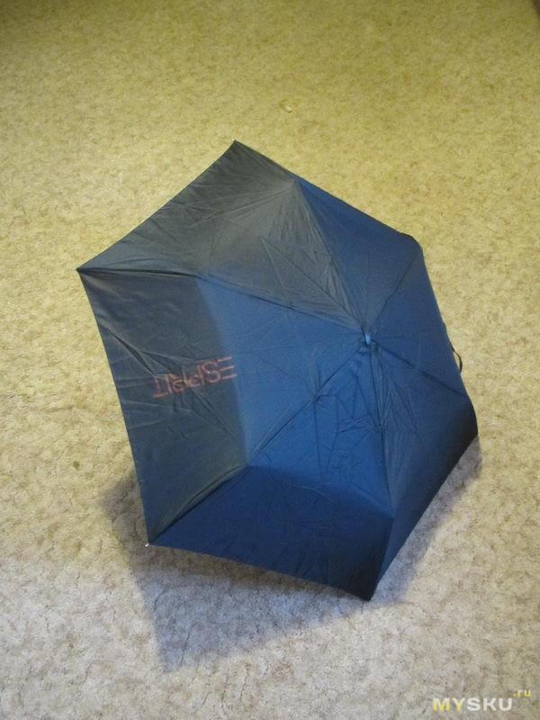 Зонтик ESPRIT. Для выживальщиков и непредвиденных ситуаций