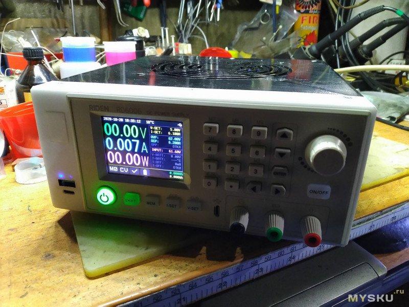 Очередной лабораторный блок питания. На этот раз на модуле RD6006