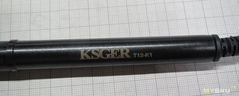 Т12. Ручка паяльника и набор жал