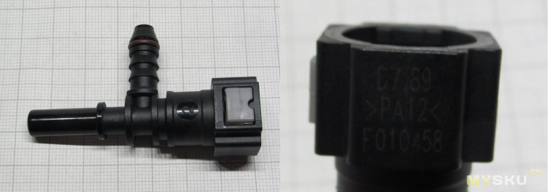 Сервисные штуцера для заправки кондиционера и их нестандартное применение в автодиагностике
