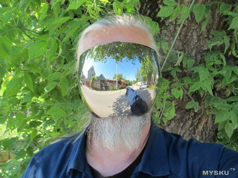 Прозрачная полнолицевая маска