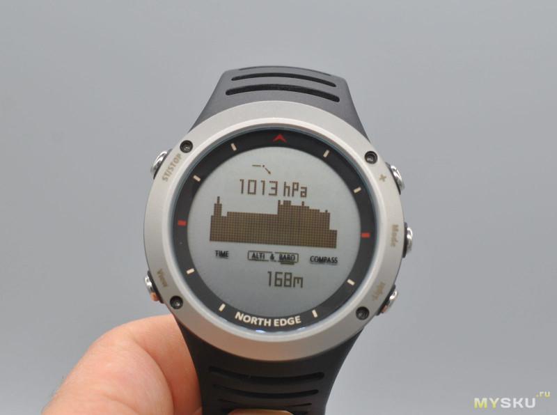 north edge часы инструкция на русском