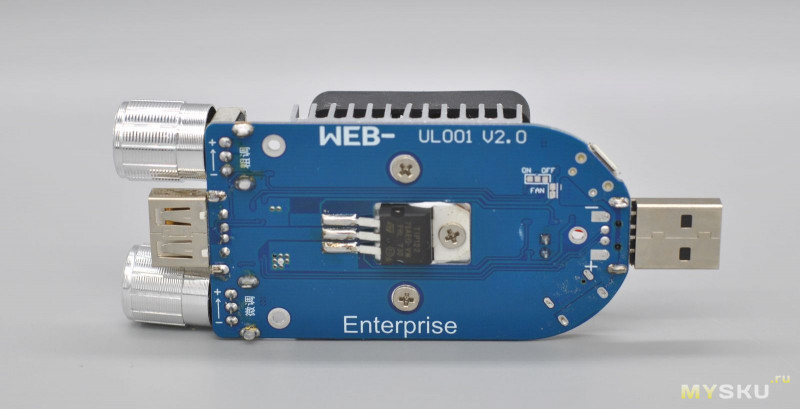 Регулируемая нагрузка для USB тестера WEB-UL001