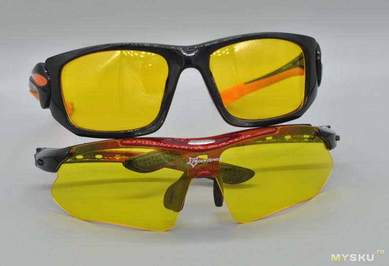 KASHILUO XQ049 Желтые очки два в одном
