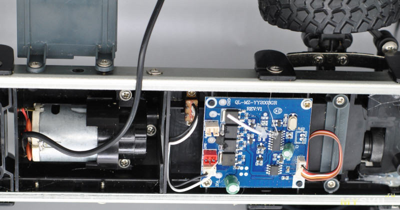 Радиоуправляемый Урал 6х6 MZ YY2004 1:12