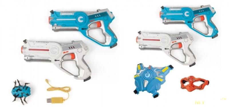 Лазерный пистолет-бластер cstar-03 и механический жук