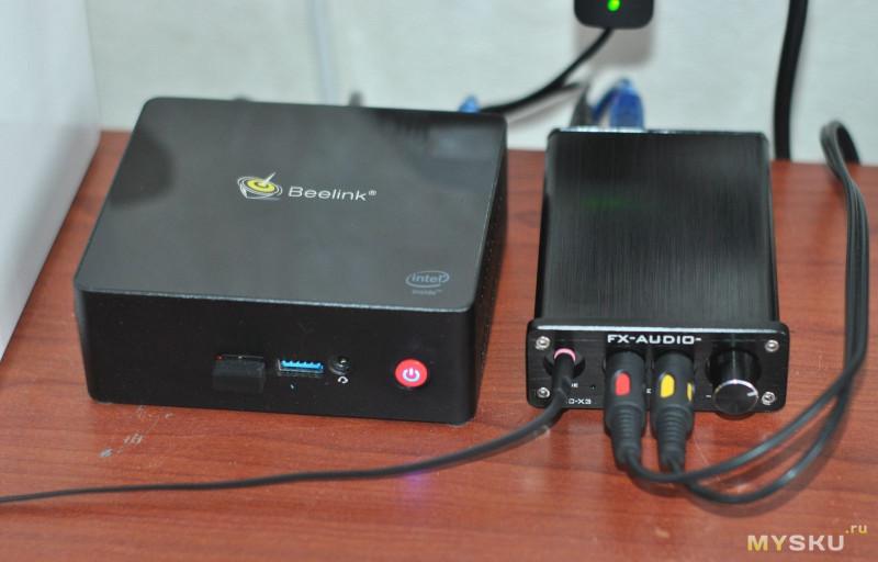 FX-AUDIO DAC-X3 Мини ЦАП для компа