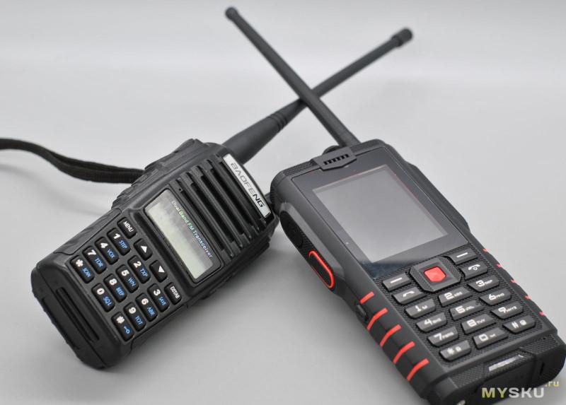 Суровый кнопочный телефон ioutdoor T2