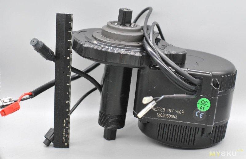 ⚠ Электромотор Bafang BBS02B 750 Вт. Был велосипед, а стал электробайк!