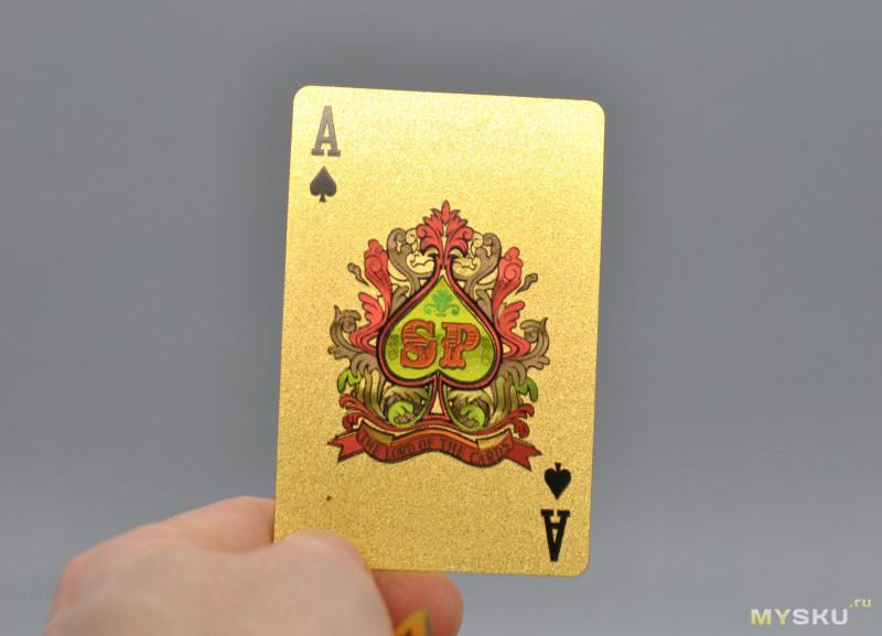 Колода PET игральных карт