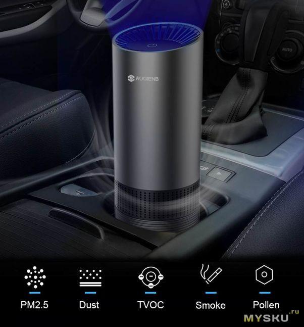 AUGIENB Очистка воздуха в авто