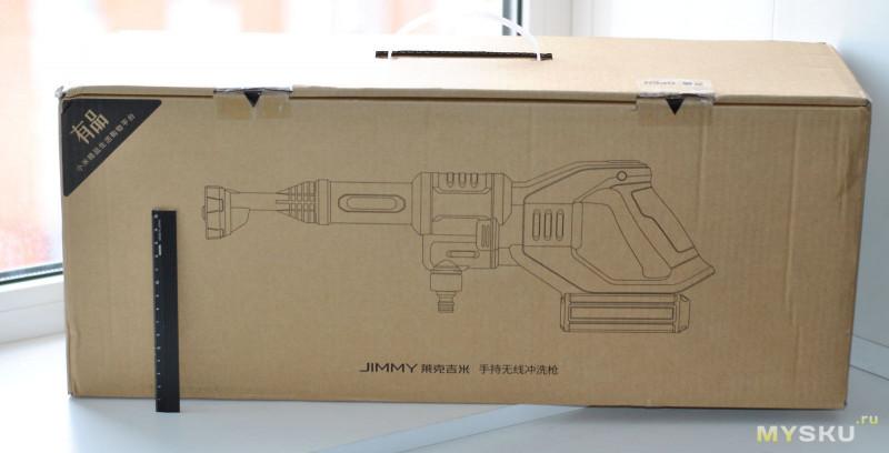 Аккумуляторная мойка авто JIMMY JW31