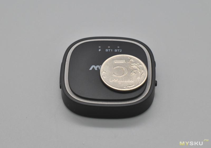 MPOW BH259A Приемник-передатчик Bluetooth 5.0 c APTX/APTX LL/APTX HD