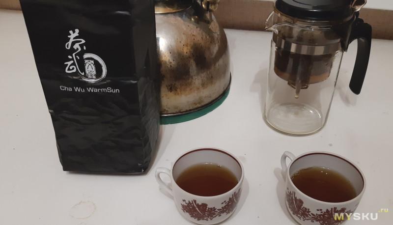 Черный (красный) чай Дяньхун Cha Wu WarmSun