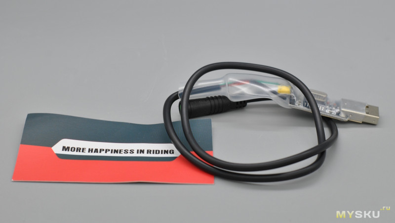 Usb кабель для программирования кареточных моторов Bafang
