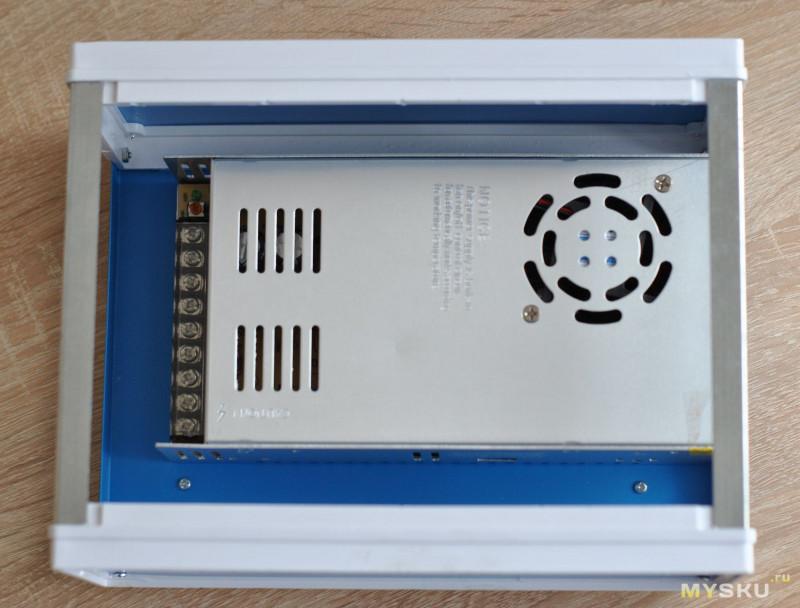 Металлический корпус для РЭА 250x190x110 мм