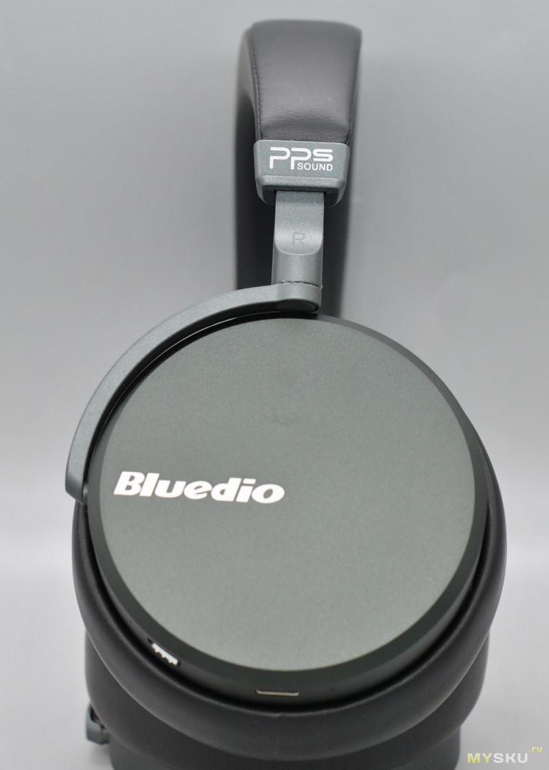 ☊ Полноразмерные беспроводные наушники Bluedio Victory V2
