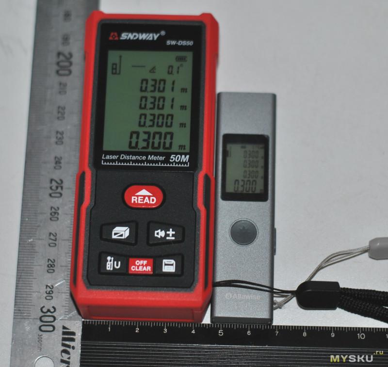 Лазерный дальномер Sndway SW-DS50