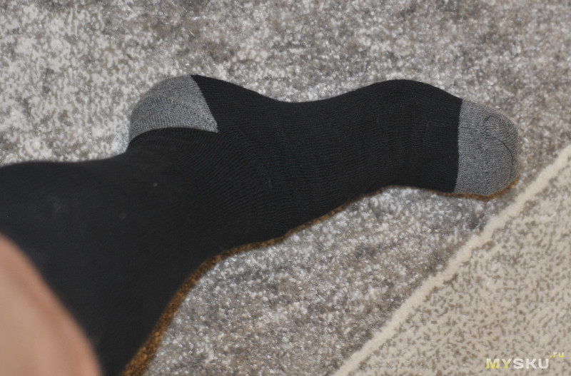 Носки с подогревом. Зима близко!