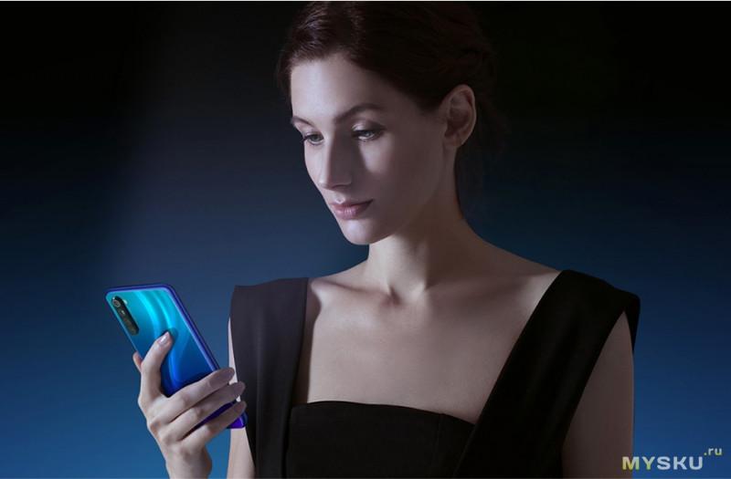 Xiaomi Redmi Note 8 глобалка 4/64 за $155