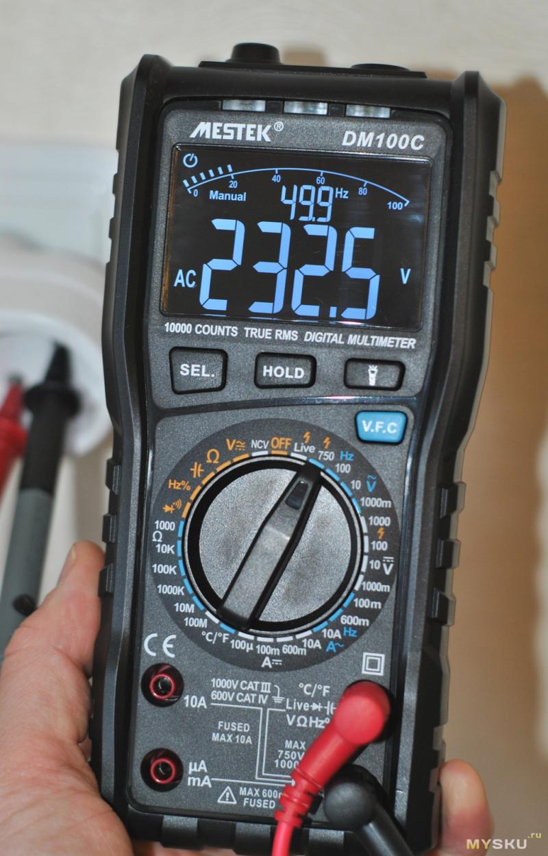 Мультиметр MESTEK DM100C