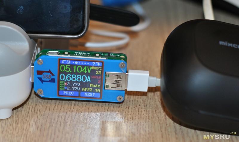 TWS наушники Mixcder T2